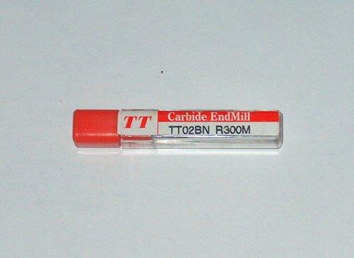 TT CARBIDE BALL END MILL TT02BN R300M RADIUS 3mm