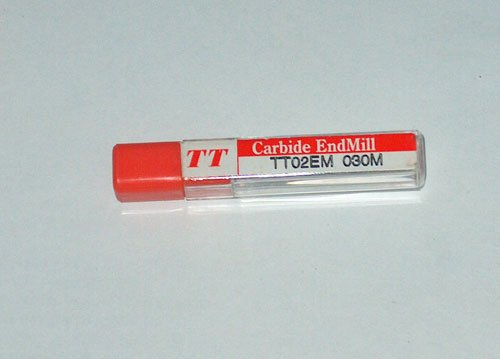 TT CARBIDE END MILL TT02EN 030M �3mm