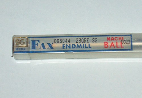 NACHI FAX SG SERIES BALL END MILL UC23 R4.8mm