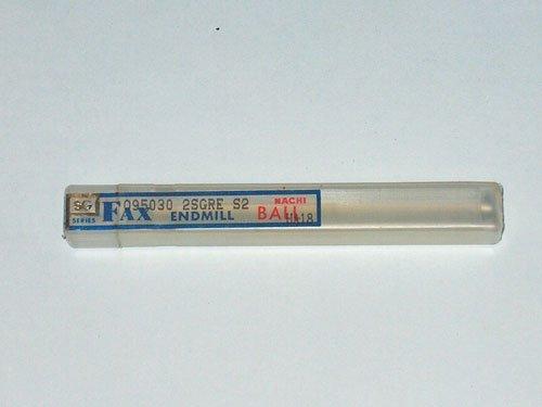 NACHI FAX SG SERIES BALL END MILL UA18 R3.1mm