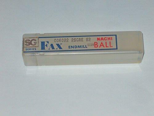 NACHI FAX SG SERIES BALL END MILL UC09 R6.6mm