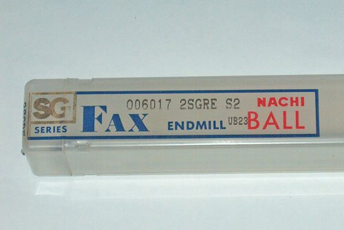 NACHI FAX SG SERIES BALL END MILL UB23 R6.1mm