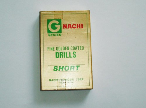Set Of 5 Piece NACHI Fine Golden Coated AD12 �6.8mm Drill Bit
