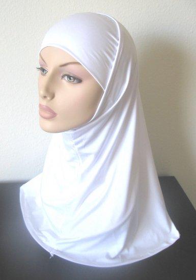 White Al Amira Hijab