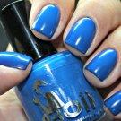 peeping neon blue - Boii Nail polish