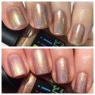 Keep calm i'm a princess   holographic nail polish - boiicosmetics