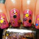 Boii Nail polish pink daises