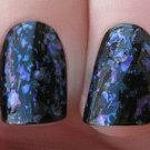 blue flakie  Glitter Polish - Boii Nail polish