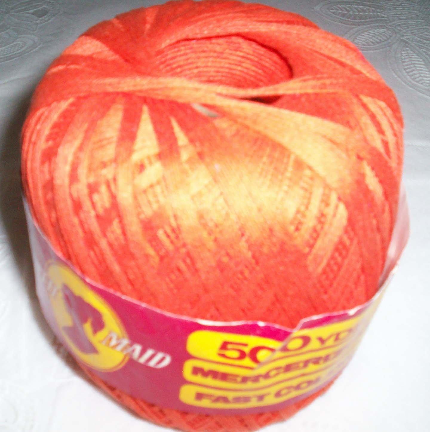 South Maid yarn, Persimmon