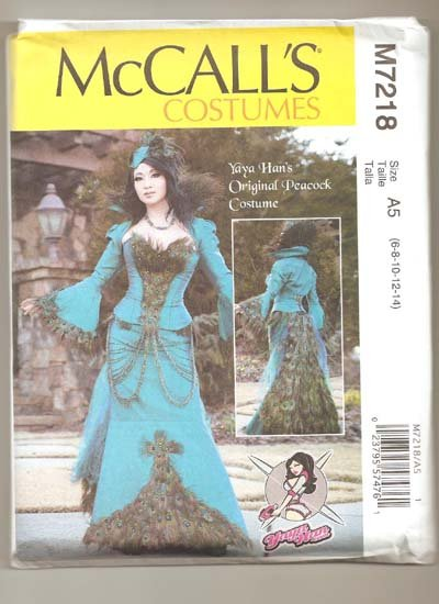 McCall's costume M7218