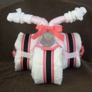SOLD Carter's Tricycle Baby Shower Diaper Cake/Girl