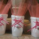 12 Baby Booties Baby Shower Favor/Girl