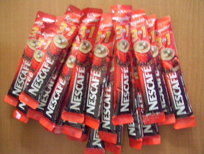 Nescafe Original Taste Instant 50 Stick 3 in 1 NEW