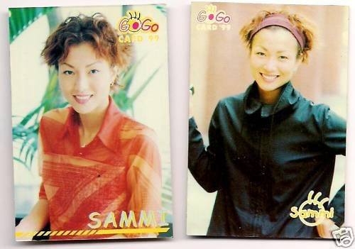 ��� Sammi Cheng Double-side Photo Card