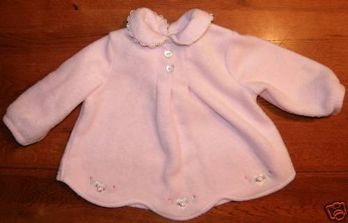 Sesame Street Pink Girls Fleece Shirt NWOT SZ 3-6 Month