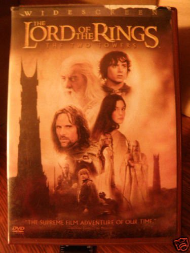 The Lord of the Rings: The Two Towers (DVD, 2003, Wi...