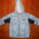 Light Blue Toddlers Nylon Jacket Size 4T