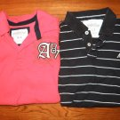 Aeropostale Polo Shirts-Set of 2-Used-SZ M & L
