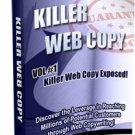 Killer Web Copy Volumes 1, 2 & 3
