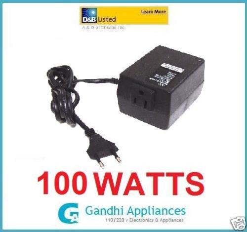 AC Power Voltage Converter 220V AU UK to 110V US Travel