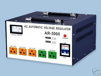 AR-5000 Automatic Voltage Regulator ConverterStabilizer