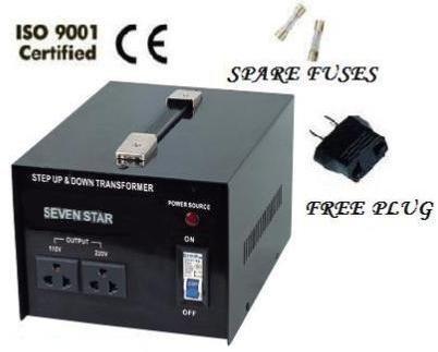1000 Watt Voltage Converter Transformer 110/120/220/240