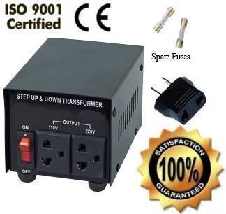 750 Watt Voltage Converter Transformer 110/120/220/240V