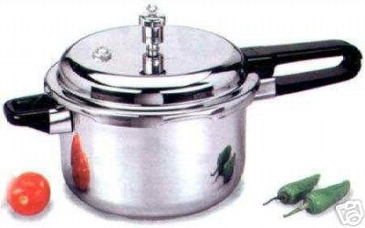 NEW Prestige 5.5 Liter Stainless Steel Pressure Cooker
