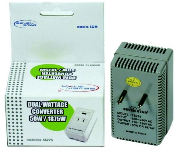 INTERNATIONAL VOLTAGE CONVERTER 220V TO 110V 1875 WATTS