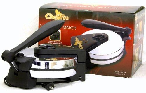 """Roti Chef Pro ELECTRIC TORTILLA MAKER FLATBREAD 8"""" 110V"""