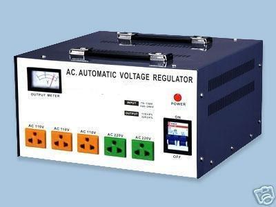 8000 Watt Voltage Converter Regulator 110 220V Up/Down