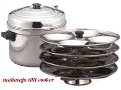 Brand New LARGE Idli Cooker 6 Racks 24 IDLY with Stand