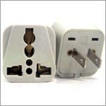 Grounded Universal Travel Plug Adapter for US USA Japan