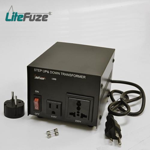 300 Watt Travel Voltage Converter Transformer Adapter $