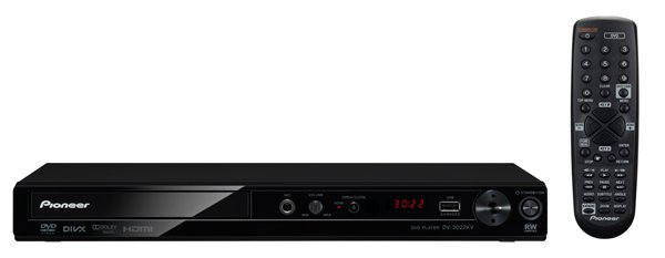 PIONEER 1080p HDMI KARAOKE MULTI REGION DVD PLAYER DivX