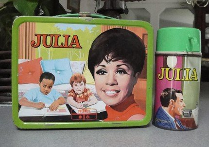 JULIA LUNCHBOX and STEEL THERMOS, 1969-1970, Hard to Find