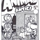 ANIMAL ANTICS #1 COVER ART - Dexter Cockburn Underground Comix