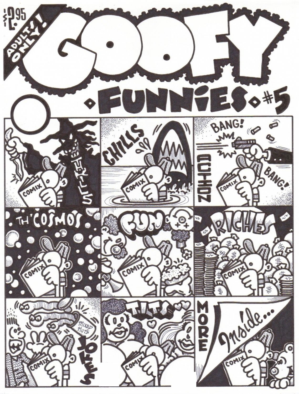 GOOFY FUNNIES #5 COVER ART - Dexter Cockburn Underground Comix