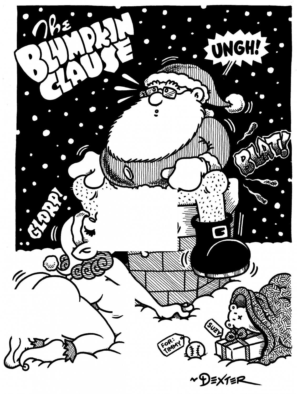 BLUMPKIN CLAUS - Original Art Dexter Cockburn