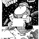 BLUMPKIN CLAUS - Original Art Dexter Cockburn