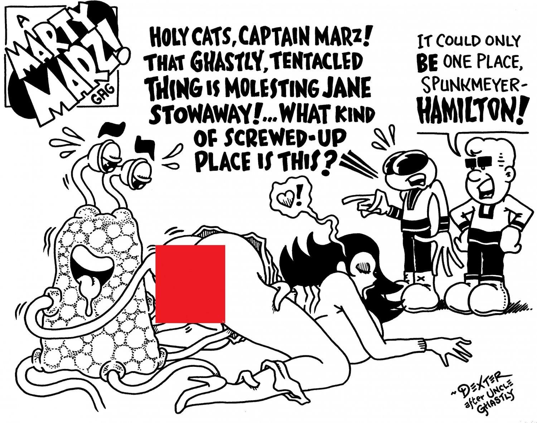 NORT MEETS MARTY MARZ & CREW - Original Art Dexter Cockburn