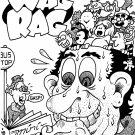 WAG RAG ORIGINAL COVER ART - Dexter Cockburn Original Art