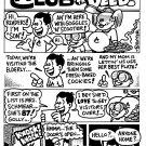 ADVENTURE CLUB DOIN THE DEED 4-PAGER - Dexter Cockburn Original Art