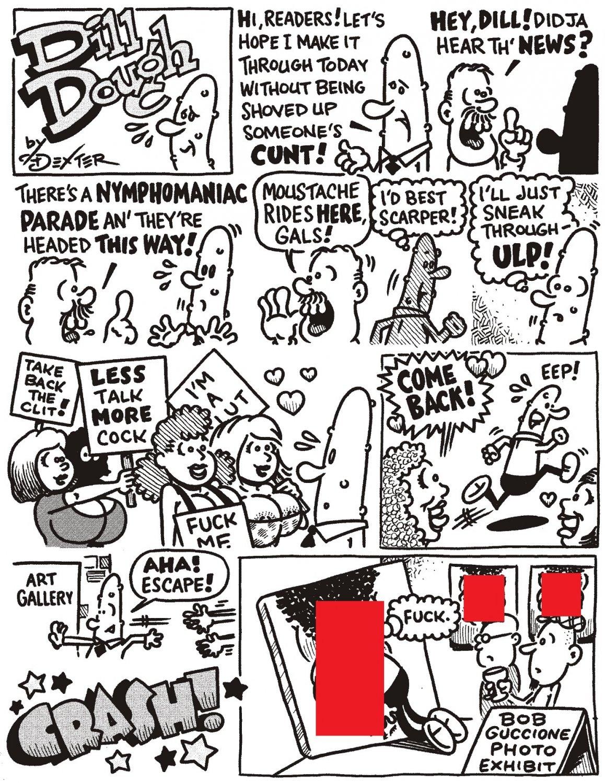 DILL DOUGH 1-pager - Dexter Cockburn Original Art