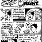 ADVENTURE CLUB WET PAINT 8-PAGER - Dexter Cockburn Original Art