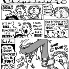 BUMCAKES ORIGINAL 1-PAGER - Dexter Cockburn Original Art
