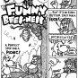 ANIMAL ANTICS 3-PAGER ORIGINAL ART - Dexter Cockburn Original Art