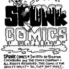 SPUNK #1 INNER FRONT COVER - Dexter Cockburn Original Art