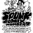 SPUNK #2 INNER FRONT COVER - Dexter Cockburn Original Art
