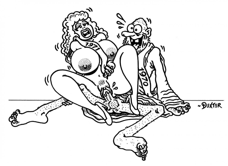 HAPPY NEW YEAR - Dexter Cockburn Original Art
